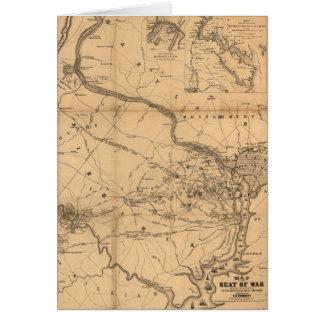 Carte de guerre civile batailles du 18 juillet, 21