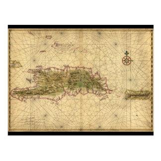 Carte de Hispaniola et d'îles de Porto Rico (1639)
