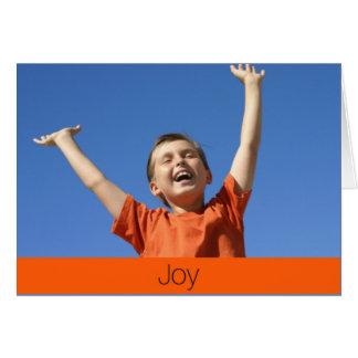 Carte de joie