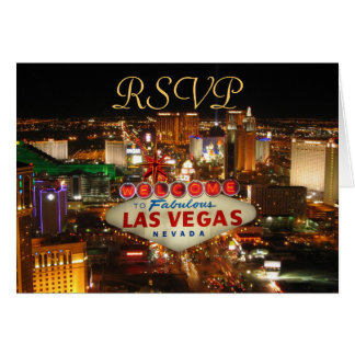 Carte de la bande RSVP de Las Vegas