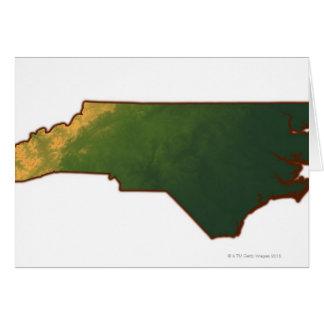 Carte de la Caroline du Nord 2
