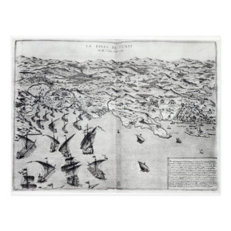 Carte de la prise de Tunis