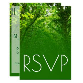 Carte de la verdure RSVP