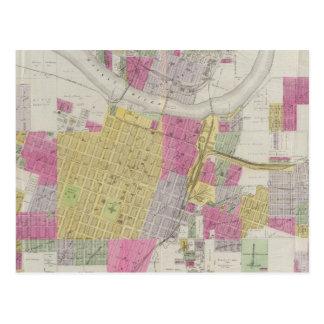 Carte de la ville de Topeka