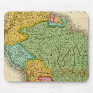 Carte de l'Amérique du Sud 4 Tapis De Souris