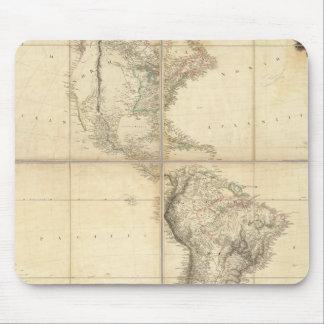 Carte de l'Amérique par un Arrowsmith Tapis De Souris