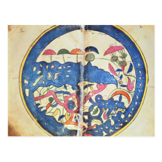 Carte de l'Egypte, 1348