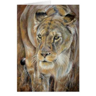Carte de lionne