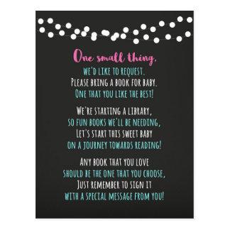 Carte de livre de baby shower
