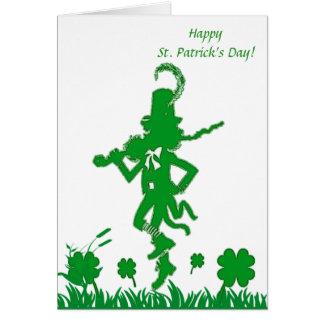 Carte de lutin du jour de St Patrick