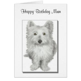 Carte de maman d'anniversaire