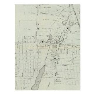 Carte de Manasquan, New Jersey