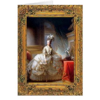 Carte de Marie Antoinette