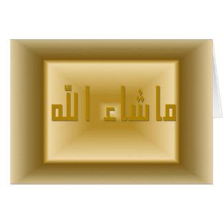 Carte de Masha Allah
