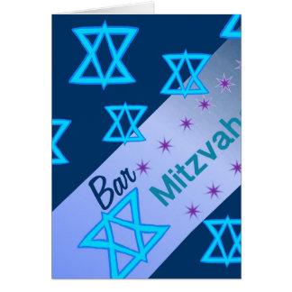 Carte de Mitzvah de barre