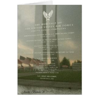 Carte de monument de l'Armée de l'Air
