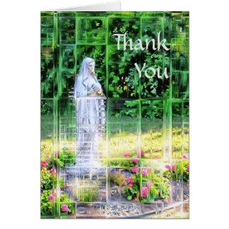 Carte de mosaïque de Merci de Vierge Marie