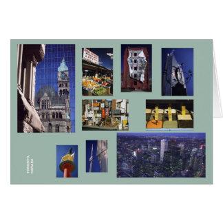 Carte de multi-image de Toronto
