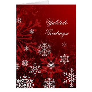 Carte de Noël customisée de Noël