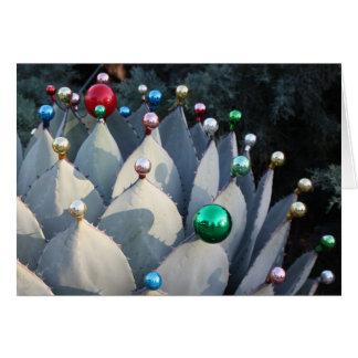 Carte de Noël d'agave par Debra Lee Baldwin
