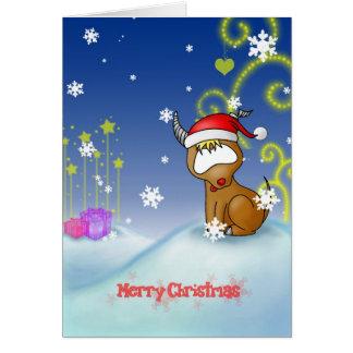 Carte de Noël de Capricorne