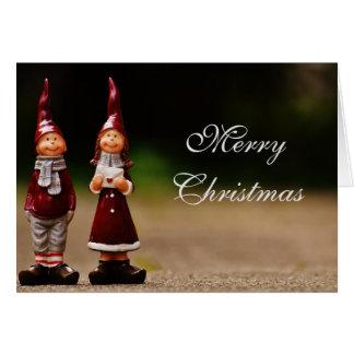 Carte de Noël de gnome