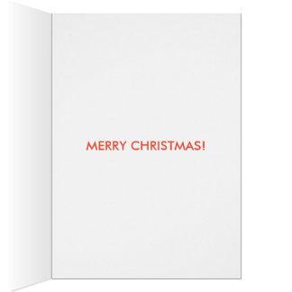 carte de Noël drôle