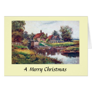 Carte de Noël - Norfolk Broads