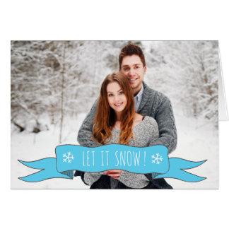 Carte de Noël personnalisée - ajoutez votre photo