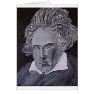 Carte de note de Beethoven
