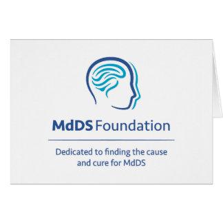 Carte de note de conscience de MdDS