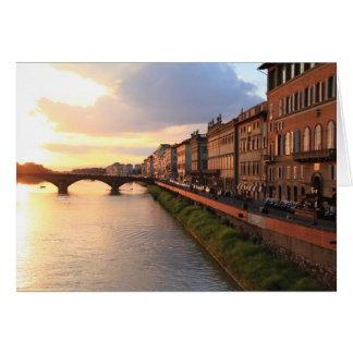 Carte de note de Florence, Italie