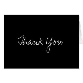 Carte de note de Merci