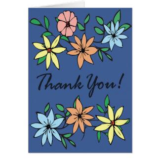 Carte de note de Merci #1