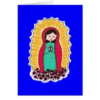 Carte de note de Virgen De Guadalupe