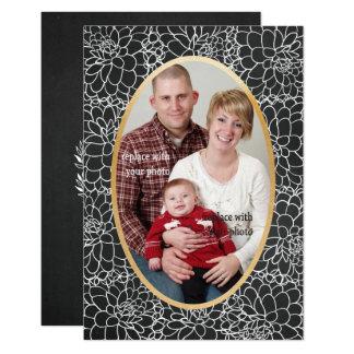 Carte de nouvelle année de Noël de vacances de Carton D'invitation 8,89 Cm X 12,70 Cm