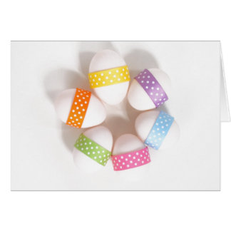 Carte de Pâques heureuse