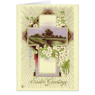 Carte de Pâques vintage
