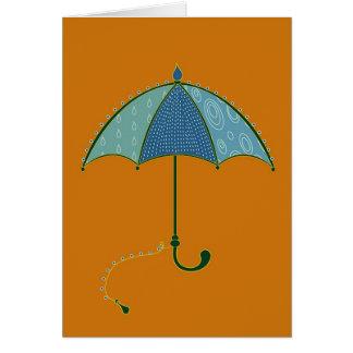 Carte de parapluie