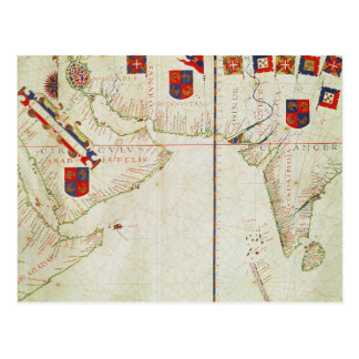 Carte de Perse, de l'Arabie et de l'Inde