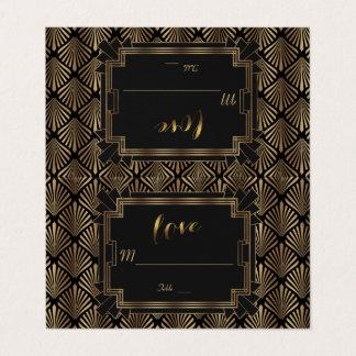 Carte De Placement Grand épouser des années 1920 de Gatsby des années