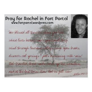 Carte de prière de Rachels