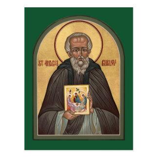 Carte de prière de St Andrei Rublev