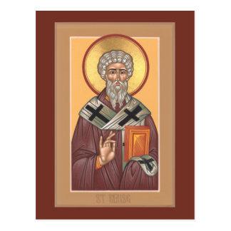 Carte de prière de St Blaise
