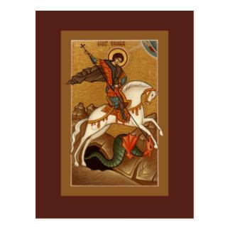 Carte de prière de St George