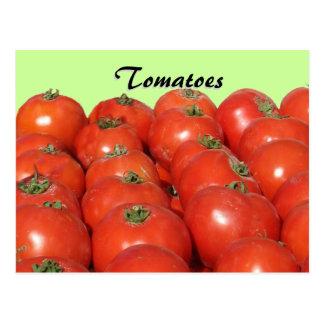 Carte de recette - tomates