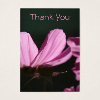 Carte de remerciements - Comos et Sun -