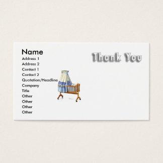 Carte de remerciements de bébé