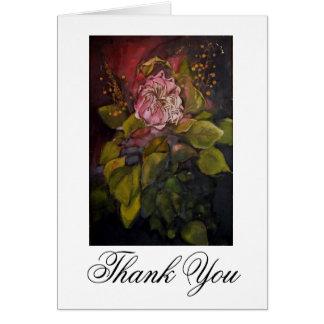 Carte de remerciements du Roi Protea