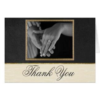 Carte de remerciements formel